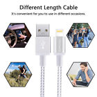 6FT Fast Charge USB Data Cable Braided Lightning USB Charger Cable For iPhone
