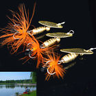 5.5g Fishing Lure Spoon Bait ideal for Bass Trout Perch pike rotating Fishing RD