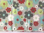 Premier Prints Fabric, 2 Yards Buttercup Twill-Harmony/Red/Lime Flowers.