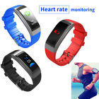 Smart Wristband Fitness Tracker Heart Rate Blood Pressure for Samsung iPhone X