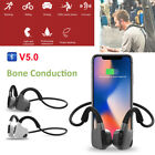 BONE CONDUCTION BLUETOOTH V5.0 EADPHONES SPORT/WATERPROOF EARPHONES HEADSET G4A5