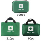 First Aid Kit Bag Medical Emergency Kit. Travel Home Car Workplace. 90 to 210pc