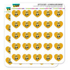Beer Double Your Vision Fun Funny Humor Heart Planner Scrapbook Craft Stickers