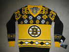 BOSTON BRUINS UGLY CHRISTMAS SWEATER NHL CLASSIC WOMEN'S SZ: MEDIUM small $17.5 USD on eBay