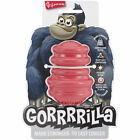 "BRAND NEW Multipet Gorrrrilla Heavy Duty Dog Toy, Red, 3.5"" Med dogs (15-35lbs)"