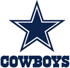 NFL Dallas Cowboys Vinyl Decal for Truck Car Window Sticker $12.5 USD on eBay