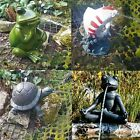 POND SPITTER FROG FISH KOI TORTOISE GARDEN WATER FOUNTAIN FEATURE STATUE