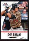 KRIS BRYANT $25+ MINT CHICAGO CUBS GLOSSY ROOKIE CARD #69B USA RC SP 2015 PANINI