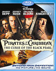 PIRATE OF THE CARIBBEAN: THE CURSE OF THE BLACK PEARL (2 Blu-ray Set) NEW!