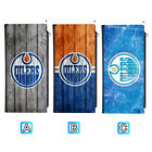 Edmonton Oilers Leather Wallet Clutch Purse Women Thin Bifold $12.99 USD on eBay