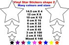 160 Stars Wall Art Vinyl Stickers Decals Kids Star Space Phone Card Crafts St2