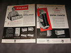 Brush Elctronics Company, Cleveland, Ohio  Sales Brochures/technical info 50's