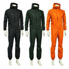 Unisex Waterproof One-piece Hooded Work Coveralls Overalls Jumpsuits Boilersuits