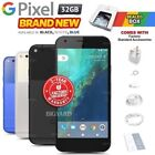 New & Sealed Factory Unlocked Google Pixel Black White Blue 32gb Android Phone