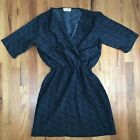 One & Only Urban Outfitter Cinch Waist Dress Large Black AK
