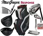 MacGregor +1 Inch Longer Response Mens All Graphite Golf Set & New 2019 Cart Bag