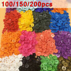 Plastic Resin Snaps Clothes Snaps Buttons Buckle Pacifier clips T5 Part Useful