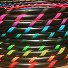 SPIRAL GRIP Weighted Beginner Fitness Hula Hoop DANCE EXERCISE