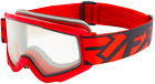 FXR SQUADRON Snow Winter Sports  GOGGLES - Red  / Black  - ONE SIZE - NEW