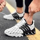 Men Sneakers Running Shoes Walking Jogging Sport Gym Shoes Lace Up Athletic size