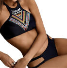 Women Bikini Set Summer Tribal Print 2 Piece Swimwear Beach Bathing Suit