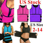 US Women Waist Trainer Vest Tank Neoprene Sauna Slim Sweat Body Shaper Gym Sport image