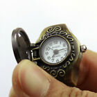Character Vintage Men Retro Finger Ring Quartz Rudder  Watches Antique Gifts image