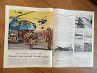 1956 United Aircraft Ad Marines Sikorsky Helicoper 1956 Chevy Bel Air Hertz Ad