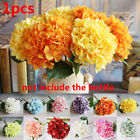 Real Touch Artificial Hydrangea Silk Fake Flowers Wedding Accessories Home Decor