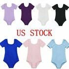 Kyпить US Girls Kids Gymnastics Ballet Leotard Dance Dress Tank Top Bodysuit Dancewear на еВаy.соm