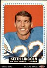 1964 Topps #164 Keith Lincoln Chargers Washington St 6 - EX/MT $20.0 USD on eBay