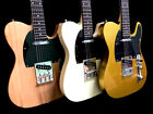 YOU PICK NEW TELE STYLE 6 STRING SLAB BODY ELECTRIC GUITAR LIGHTWEIGHT 3 COLORS