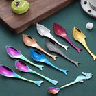 Creative Fish Dolphin Stainless Steel Soup Coffee Spoons Tableware Kitchen Tools
