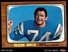 1966 Topps #128 Ron Mix Chargers EX $5.75 USD on eBay