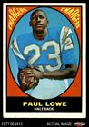 1967 Topps #121 Paul Lowe Chargers Oregon St 4 - VG/EX $3.75 USD on eBay