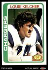 1978 Topps #360 Louie Kelcher Chargers NM $2.15 USD on eBay