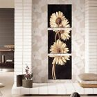 3Pcs Chrysanthemum Art Canvas Painting Print Wall Pictures Home Decor  US