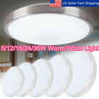 5-36W LED Round Modern Ceiling Light Home Bedroom Kitchen Mount Fixture Lamp