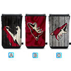 Arizona Coyotes Leather Phone Case Pouch Strap For iPhone Samsung $11.99 USD on eBay