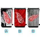Detroit Red Wings Leather Phone Case Pouch Strap For iPhone Samsung $11.99 USD on eBay