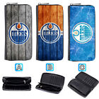 Edmonton Oilers Leather Long Wallet Purse Zip Women Handbag $15.99 USD on eBay