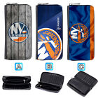 New York Islanders Leather Long Wallet Purse Zip Women Handbag $16.99 USD on eBay