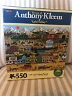 The Art of Anthony Kleem, Karmin ~ APPLE COVE ~ 550 Piece Puzzle - NEW