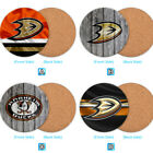 Anaheim Ducks Wood Coffee Coaster Cup Mug Mat Tableware $3.99 USD on eBay