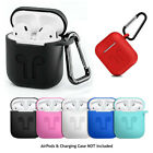 AirPods Silicone Case Cover Protective Skin for Airpod Charging Case P*BS