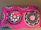 NWOT Vera Bradley FRONT ZIP WRISTLET wallet holds large iPhone 6 plus in case