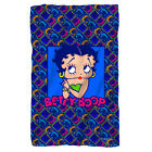 BETTY BOOP POP BETTY FLEECE THROW SOFT BLANKET 36X58 $27.95 USD on eBay