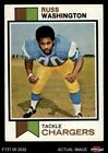 1973 Topps #199 Russ Washington Chargers EX/MT $1.0 USD on eBay
