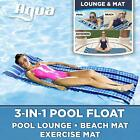 Aqua 3-In-1 Roll-Up Pool Float, Padded Mat For Beach-Land-Water, Roll-Up Mat wit