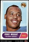 1968 Topps #200 Ernie Wright Bengals VG $1.1 USD on eBay